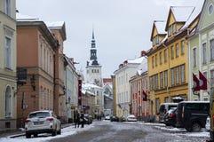 stary Tallin miasta Obraz Stock