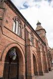 Stary Targowy Hall w targowym miasteczku Sandbach Anglia Zdjęcie Royalty Free