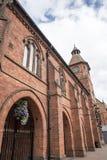 Stary Targowy Hall w targowym miasteczku Sandbach Anglia Obrazy Stock