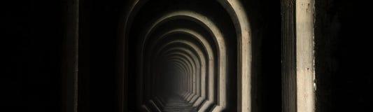 Stary Tavannes Tunel Tunel De Tavannes w Verdun regionie Obraz Royalty Free