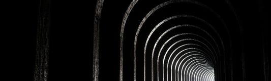 Stary Tavannes Tunel Tunel De Tavannes w Verdun regionie Fotografia Royalty Free