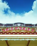 stary teatr marque Obrazy Royalty Free