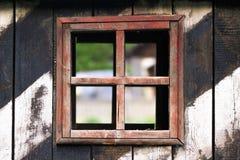 stary tekstury abstrakcyjne ściany drewniane okna Fotografia Royalty Free