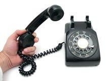 stary telefon Obrazy Royalty Free