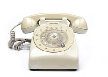 Stary telefon Zdjęcie Stock