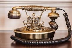 Stary telefon Fotografia Stock