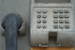 stary telefon Fotografia Royalty Free