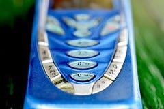 Stary telefon komórkowy, technologii pojęcie obrazy stock