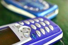 Stary telefon komórkowy, technologii pojęcie obraz royalty free