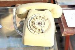 Stary telefonu rocznika styl Fotografia Royalty Free