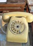 Stary telefonu rocznika styl Obrazy Stock