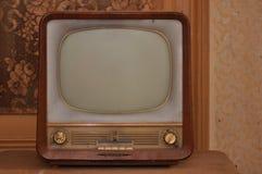 stary telewizor zdjęcia stock