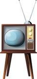 stary telewizor Fotografia Royalty Free