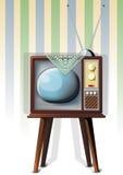 stary telewizor Obraz Royalty Free