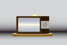 stary telewizor Obraz Stock