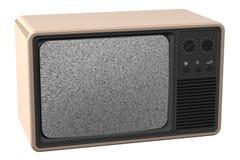 stary telewizor royalty ilustracja
