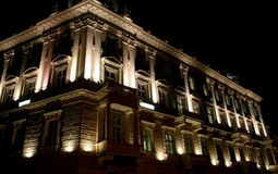 Stary tenement dom w Warszawa Obrazy Stock