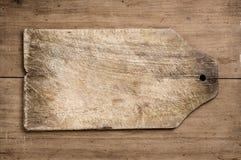 stary tnące tabela drewna Zdjęcie Royalty Free