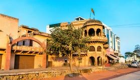 Stary tradycyjny dom przy Sikandra, Agra -, India Fotografia Royalty Free