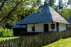 Stary tradycyjny dom w Rumunia Obrazy Royalty Free