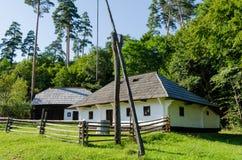 Stary tradycyjny dom w Rumunia Zdjęcia Royalty Free