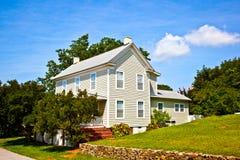 Stary tradycyjny gospodarstwo rolne dom obraz stock