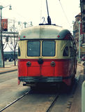 stary tramwaj Obraz Stock