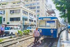 Stary tramwaj Obrazy Royalty Free