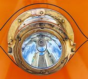 Stary tramwaju headlamp zdjęcie royalty free