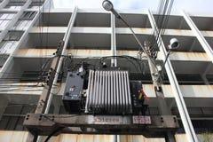 stary transformator Obraz Stock
