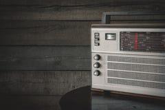stary tranzystor radiowego Obrazy Royalty Free