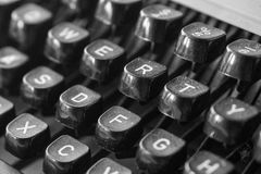 stary typewritter Obraz Stock