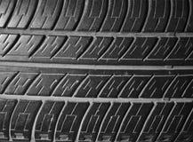 Stary używać drugi ręki opony tekstury motywu czarny samochodowy wzór Fotografia Royalty Free