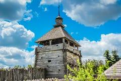 Stary Ukraiński forteca - Zaporozhskaya Sech Obrazy Royalty Free