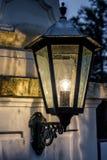 Stary uliczny lampion Obrazy Stock