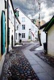 stary uliczny miasteczko Zdjęcia Stock