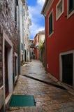 stary uliczny miasteczko obrazy stock