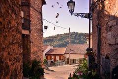 stary uliczny miasteczko Zdjęcie Royalty Free