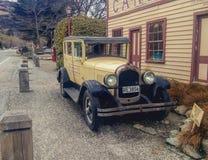 Stary unikalny samochód obrazy royalty free