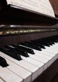 Stary uroczysty pianino obrazy stock
