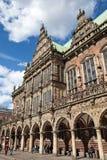 Stary urząd miasta Bremen Zdjęcie Royalty Free