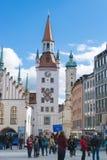 Stary urząd miasta Monachium Obraz Royalty Free