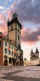 Stary urząd miasta w Praga Fotografia Stock