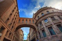 Stary urząd pocztowy w Barcelona, Hiszpania. Zdjęcia Royalty Free