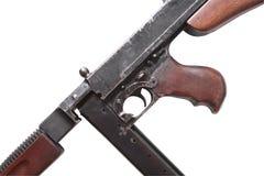 Stary usa Submachine pistolet Zdjęcie Royalty Free