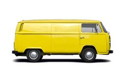 Stary VW samochód dostawczy Zdjęcie Royalty Free