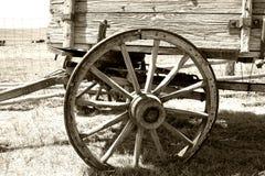 stary wóz koło fotografia stock