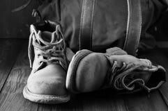stary wędrówki butów Fotografia Royalty Free