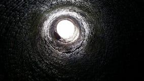 Stary węglowy komin Zdjęcia Stock