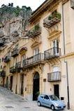 Stary włoski miasteczko Zdjęcia Royalty Free